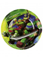 Assiettes Tortues Ninja (x8)