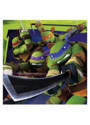 Serviettes Tortues Ninja (x16)