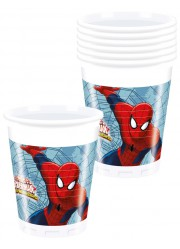 Gobelets Spiderman (x8)