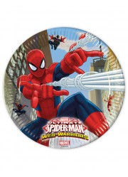 Assiettes Spiderman (x8)