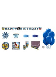 Kit anniversaire Transformers luxe (8 pers.)