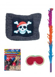 Kit pinata drapeau pirate