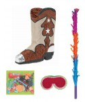 Kit pinata botte de cowboy