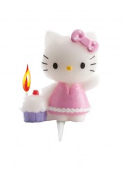 Bougie anniversaire Hello Kitty