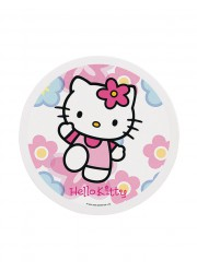 Disque en sucre Hello Kitty