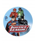 Disque en sucre Justice League Batman Superman Flash et Green Lantern