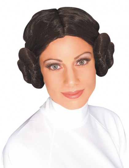 Perruque princesse Leia adulte (Star wars)