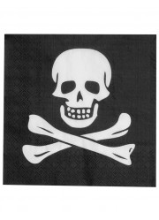 Serviettes pirates (x12)