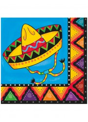 Serviettes mexicaines (x20)