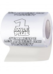 Papier toilettes 1 an de plus
