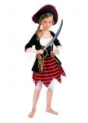 Déguisement pirate fille luxe