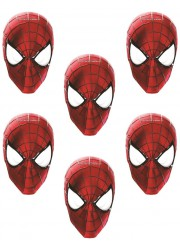 Masques Spiderman (x6)