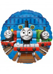 Ballon mylar Thomas le petit train (23 cm)