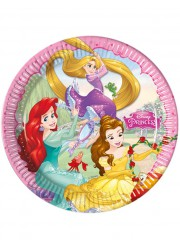 Petites assiettes Disney princess Dreaming (x8)