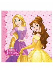 Serviettes princesses Disney (x 20)