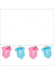 Nappe Baby shower fille ou garçon