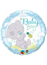 Ballon Baby shower garçon ourson (45 cm)