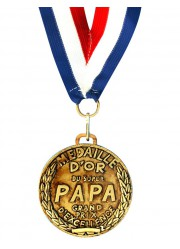 Médaille d'or du Super Papa