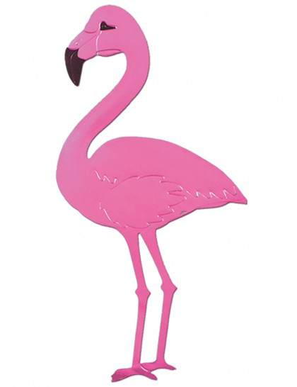 Flamant rose gonflable (50 cm)