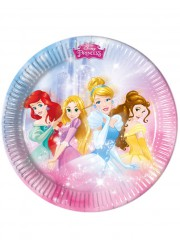 Assiettes princesses Disney (x8)
