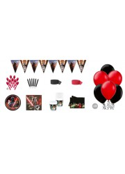 Kit anniversaire Star Wars luxe (8 pers.)