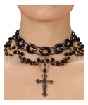 Collier gothique Halloween adulte