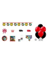 Kit anniversaire Jake & les pirates luxe (8 pers.)