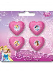 Bagues princesses Disney (x4)