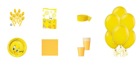 Kit anniversaire Les Minions luxe (8 pers.)