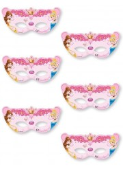 Masques princesses Disney (x4)