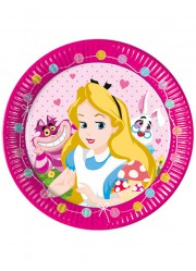 Assiettes princesses Disney Pays enchanté (x8)