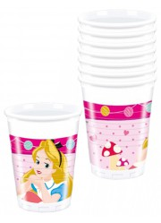 Gobelets princesses Disney Pays enchanté (x8)
