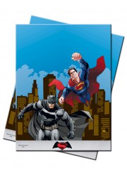 Petites assiettes Batman vs Superman (x8)