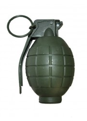 Fausse grenade militaire (sonore et lumineux)
