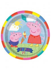 Assiettes Peppa pig (x8)