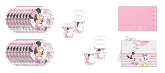 Kit anniversaire Minnie (8 pers.)