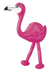 Flamant rose gonflable (56 cm)