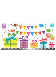 Carte anniversaire Happy Birthday