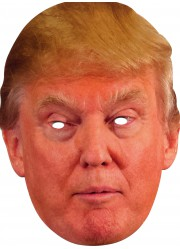 Masque carton Donald Trump