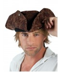 Chapeau Pirate Neptune marron