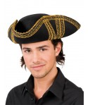 Chapeau de Pirate Royal Or