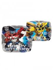 "Ballon Mylar Transformers ""Happy Birthday"""