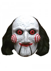 Masque SAW latex Billy Puppet Licence officielle