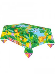 Nappe animaux de la jungle (180cm x 120cm)