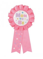 "Cocarde baby Shower ""MOM TO BE"""