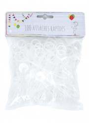 Attaches ballons rapides (x100)