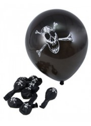 Ballons pirates (x6)