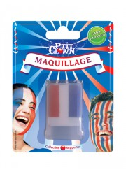 Stick maquillage supporter France tricolore