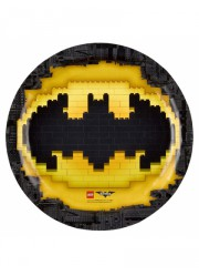 Assiettes Batman (x6)