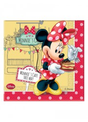 Serviettes Minnie garden (x20)